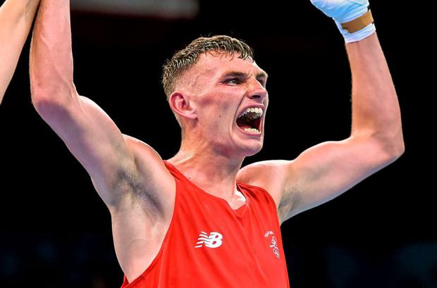 Sean McComb is just one win away from a medal