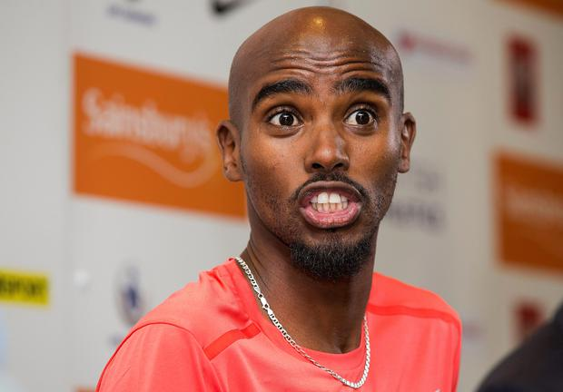 Mo Farah took a hiding from the media last week, especially when it was revealed that he had missed two drugs tests before London 2012 (Barry Coombs/PA Wire)