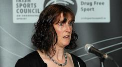 Dr Una May says 'It's a reality of the world we live in that people cheat — they cheat in taxes and exams — so nobody should be deluded in thinking that sport is exempt'