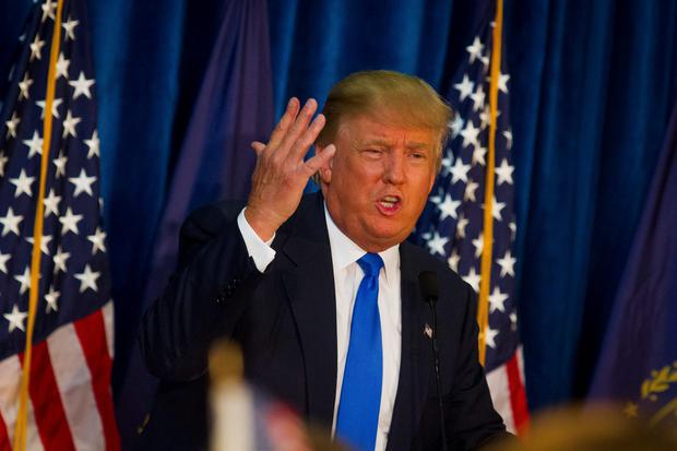 HAIR APPARENT: Donald Trump and his improbable hair have livened up a dull election campaign no end
