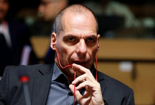 Crisis: Greek Finance Minister Yanis Varoufakis