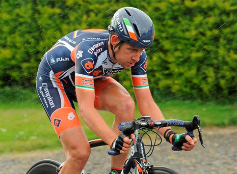 Ireland's Matt Brammeier claimed the biggest victory of his professional career yesterday when he snatched the fourth and final stage of the ZLM Toer in Holland from under the nose of some of the world's best sprinters