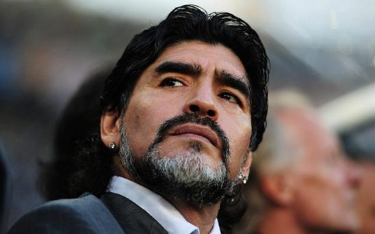 Diego Maradona is ready to stand for Fifa president, according to reports Photo: Getty