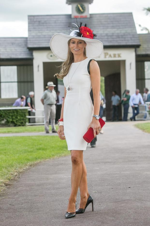 Deirdre Shefflin, the wife of Kilkenny hurling legend Henry continued the family's winning ways at Gowran Park Racecourse as she won the Morrisson Mini & Lyrath Estate Hotel Ladies Day Competition.