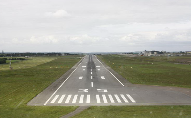 Runway at Cork Airport