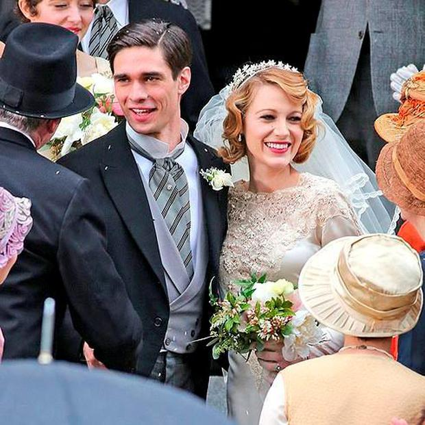 Peter J Gray and Blake Lively in 'Age of Adeline'