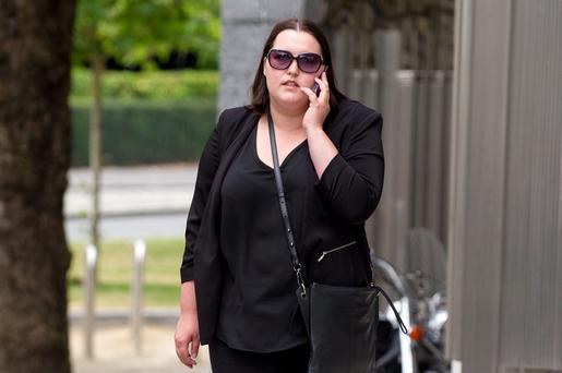 Axenia Alexei (30), of Rossvale, Portlaoise pleaded guilty at Dublin Circuit Criminal Court to stealing a total of €15, 339 from the Department of Social Protection at Swords Post Office, Swords, Dublin between July 2012 and March 2014. Pic: Court Collins.