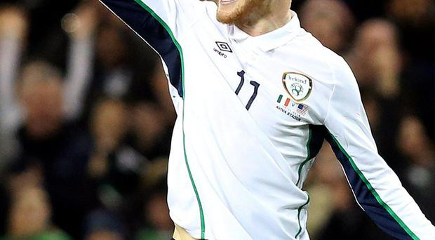 McClean: 'I'm delighted. I've played in the Premier League before and not only am I back here, but I'm with a stable top-flight club and one that wants to push on'