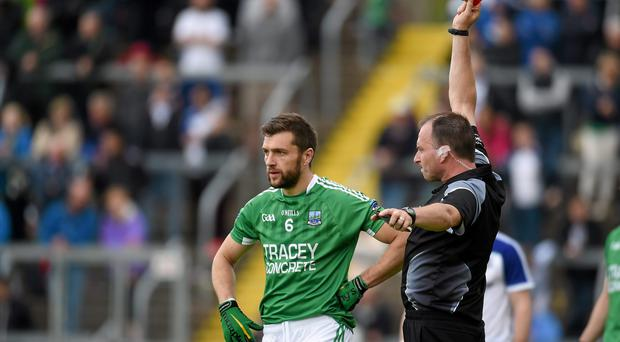 As it stands, McCluskey would miss Fermanagh's qualifier against Antrim after yesterday's draw paired the two sides