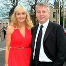 Miriam O'Callaghan and husband Steve Carson