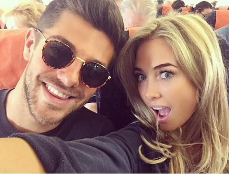 Made in Chelsea's Alex Mytton and Nicola Hughes. Picture: Nicola Hughes/Instagram