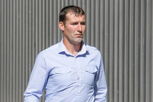 Gda Brendan Phillips (35), has been fined €2,000 but was spared jail for defrauding a bank out of €450 in an ATM scam, Dublin District Court Pic: Courtpix