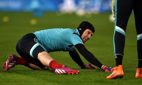 Petr Cech is on the brink of making the move from Chelsea to Arsenal