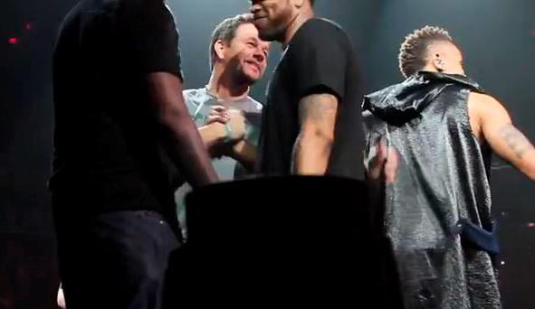 Mark Wahlberg gets on stage with NKOTB