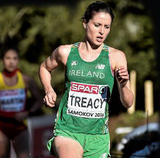 Sara Treacy was one of the hard-working Irish athletes in Greece.