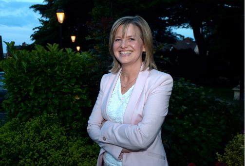 24 June 2015; Deirdre Heney, newly selected for Dublin Bay North for Fianna Fail. Clontarf Castle, Dublin. Picture: Caroline Quinn