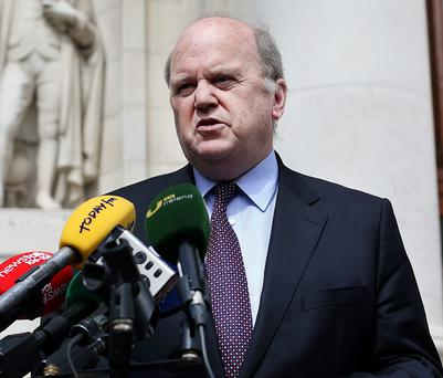 Minister for Finance Michael Noonan said his department gave full and complete answers to any questions about the Siteserv deal
