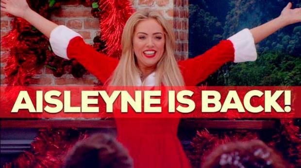 Aisleyne Horgan Wallace returns to the Big Brother house tonight