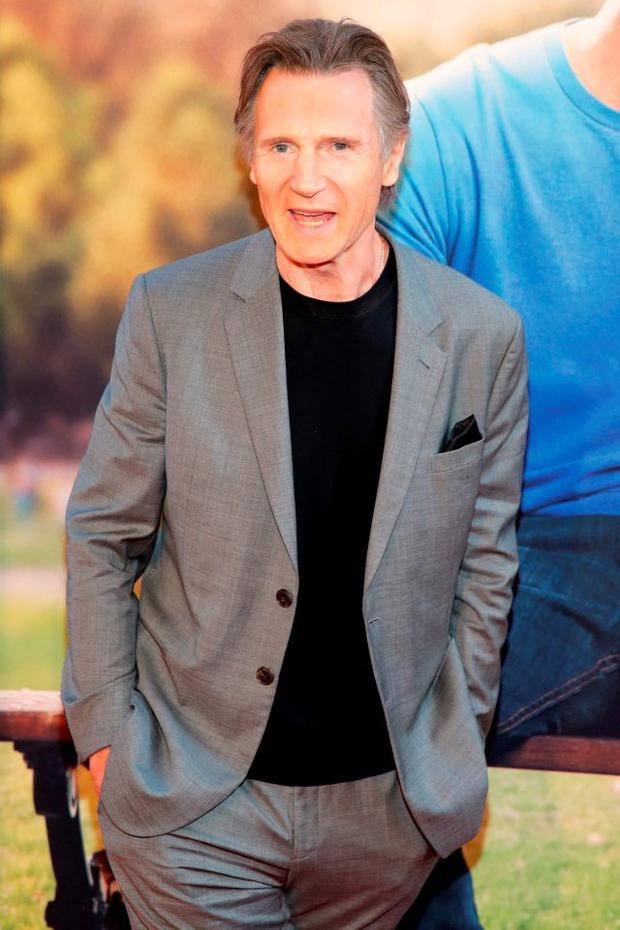 Actor Liam Neeson attends the New York Premiere of