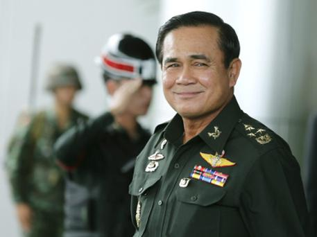 Thai army chief and Prime Minister General Prayuth Chan-ocha Credit: Narong Sangnak