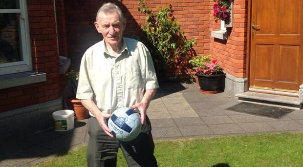 Leitrm legend Packie McGarty pictured at his home in Terenure