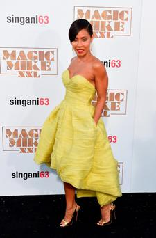 Actress Jada Pinkett Smith arrives for the premiere of the movie