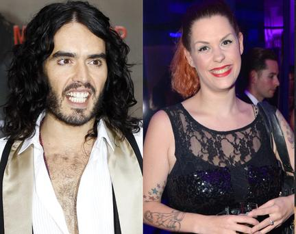 Russell Brand (left) and Fifi Geldof (right)