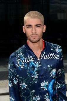Singer Zayn Malik attends the Louis Vuitton Menswear Spring/Summer 2016 show as part of Paris Fashion Week on June 25, 2015 in Paris, France. (Photo by Dominique Charriau/WireImage)