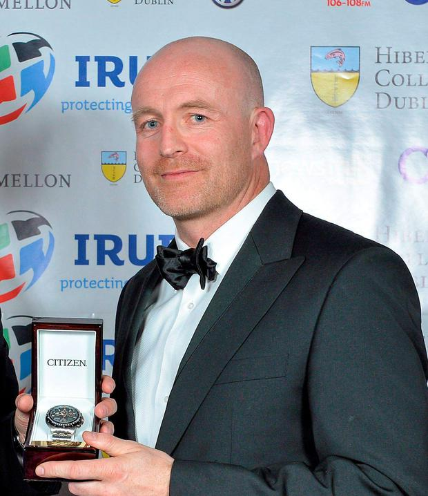 Former Leinster and Ireland wing Denis Hickie