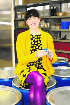 Jane Ni Dhulchaointigh, the inventor of Sugru, which sold a 14pc stake to new investors