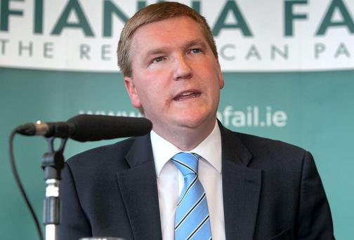 Fianna Fail's finance spokesperson Michael McGrath