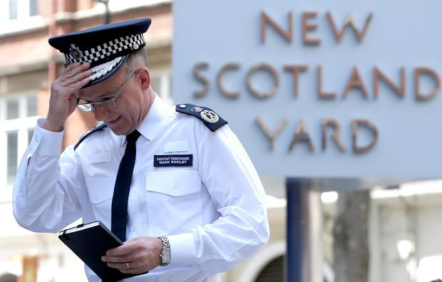 Assistant Commissioner of the Metropolitan Police, Mark Rowley REUTERS/Peter Nicholls