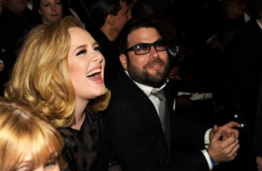 Adele and Simon Konecki have been together since Summer 2011