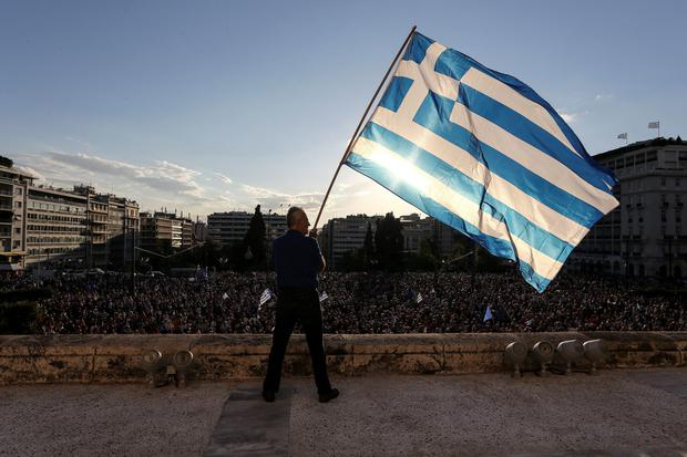 'The Greeks have the choice now. The future is in their own hands. Yes or no to the last deal. There will be a democratic vote in the cradle of democracy'