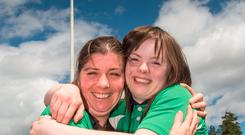Anne Marie Cooney, Saint Raphael's Service, Co Kildare, and Megan Reynolds, Blackrock Flyers, Dublin