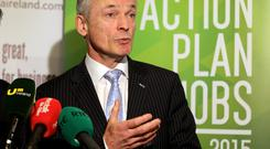 Jobs Minister Richard Bruton will today pledge separate jobs plans for the Midlands and the south-west of the country on the back of mounting concern that the recovery is failing to spread beyond Dublin