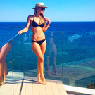 Vogue Williams shared this bikini photo in Ibiza. Picture: Instagram