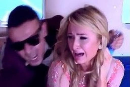 Paris Hilton was the victim of a cruel plane crash prank