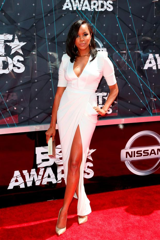 Actress Letoya Luckett attends the 2015 BET Awards at the Microsoft Theater on June 28, 2015 in Los Angeles, California. (Photo by Frederick M. Brown/Getty Images for BET)