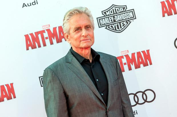 Michael Douglas attends the world premiere of