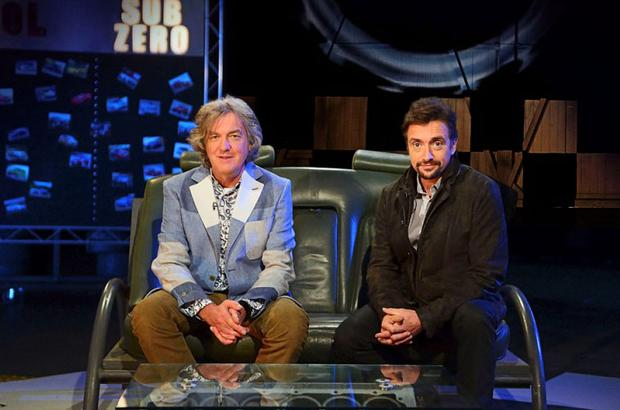 James May and Richard Hammond presented the last episode of Top Gear