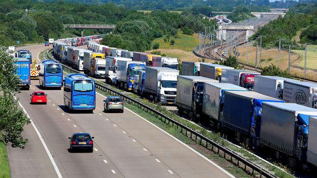 Eurotunnel Services Suspended As Striking Ferry Workers Block