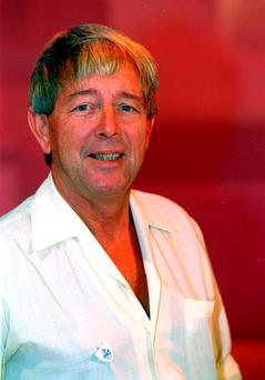 File photo dated of former Blue Peter presenter John Noakes. Photo: Adam Butler/PA Wire