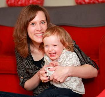 Today FM presenter and producer Alison Curtis with daughter Joan