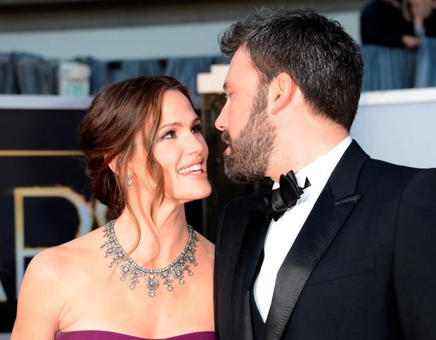 Actress Jennifer Garner and actor-director Ben Affleck arrive at the Oscars at Hollywood & Highland Center on February 24, 2013 in Hollywood, California. (Photo by Jason Merritt/Getty Images)