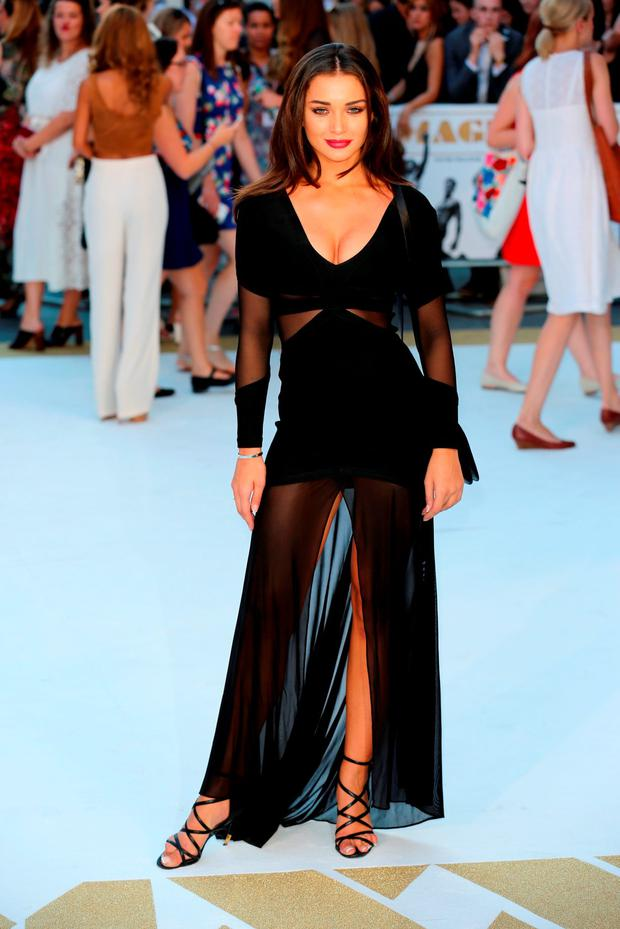 Amy Jackson attends the European Premiere of