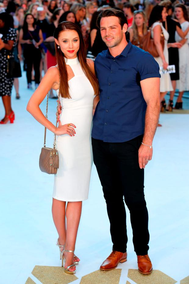 Una Foden and Ben Foden attend the European Premiere of