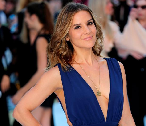 TV Presenter Amanda Byram attends the European Premiere of