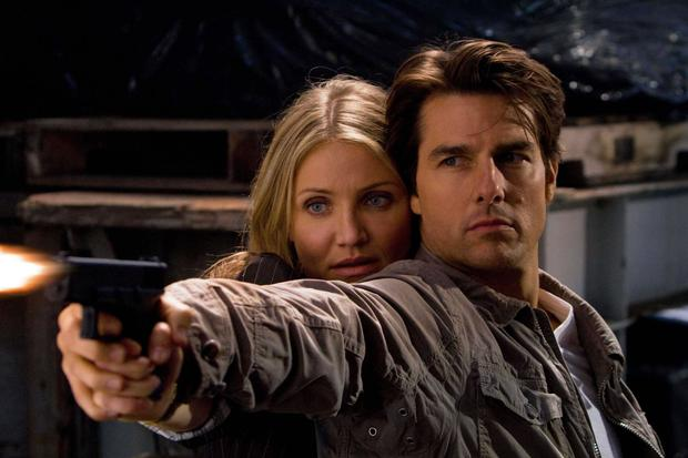 Tom Cruise and Cameron Diaz in Knight and Day