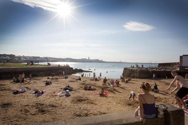 The Beach at Sandycove.
